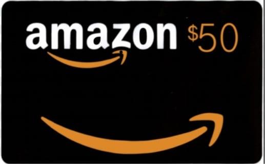 Free US$50 Amazon Gift Certificate 1